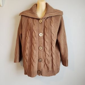 NWT Button Up Croft & Barrow Cardigan Sweater